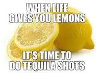 Tequilla shots