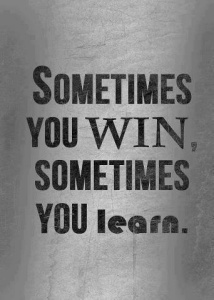 Either win or learn
