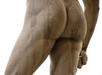 man butt