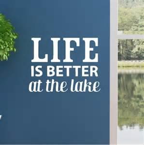 Life better at the lake