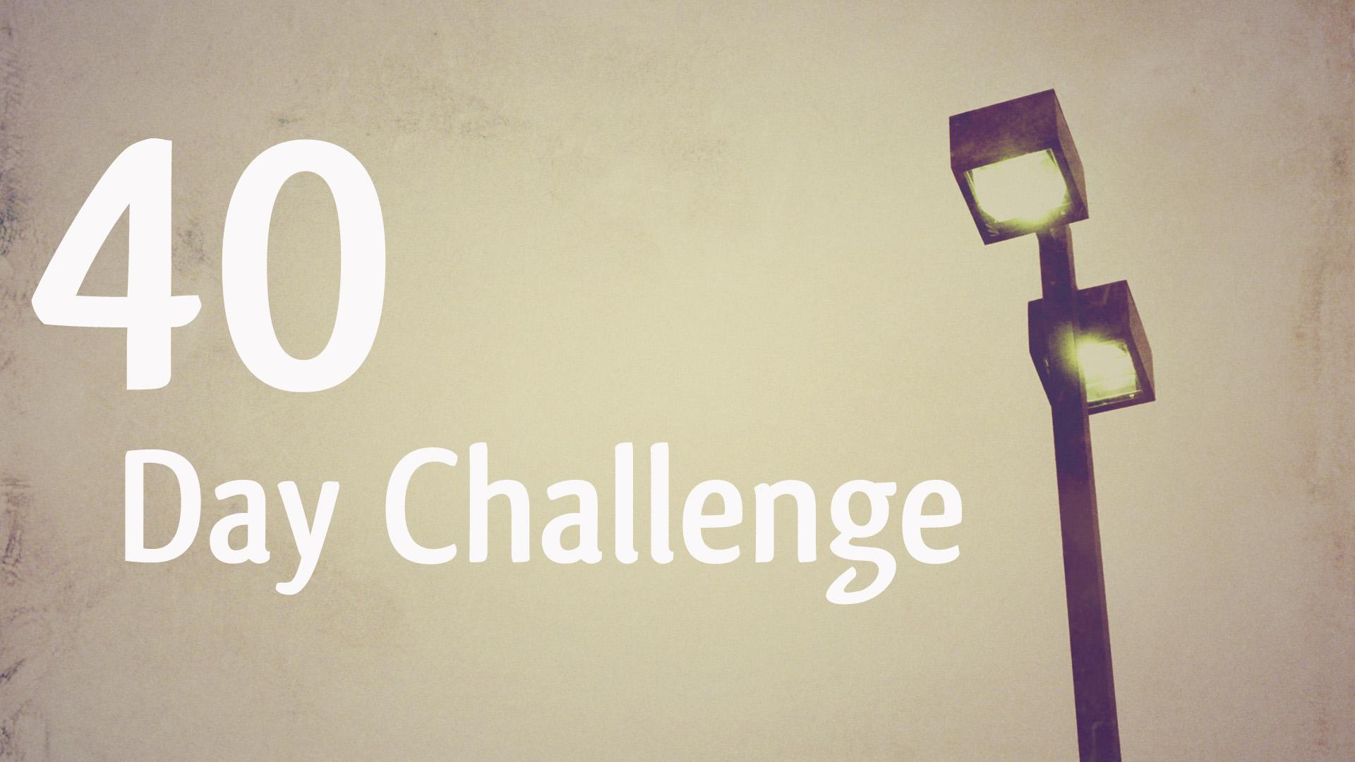 40-day-challenge