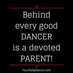 dance parent